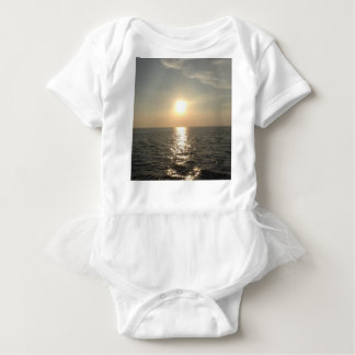 The Sunset at Bantayan Island in the Philippines Baby Bodysuit