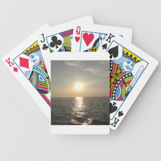 The Sunset at Bantayan Island in the Philippines Bicycle Playing Cards