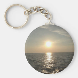 The Sunset at Bantayan Island in the Philippines Keychain
