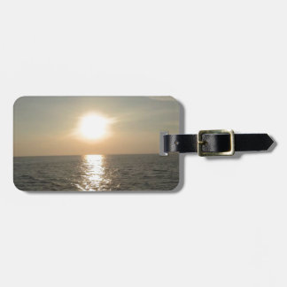 The Sunset at Bantayan Island in the Philippines Luggage Tag