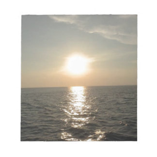 The Sunset at Bantayan Island in the Philippines Notepad