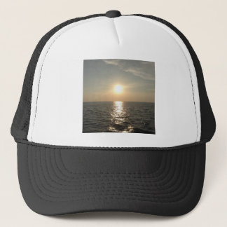 The Sunset at Bantayan Island in the Philippines Trucker Hat