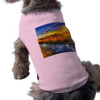 The Sunset River Van Gogh Shirt