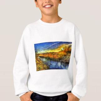 The Sunset River Van Gogh Sweatshirt