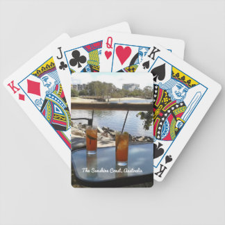 The Sunshine Coast Australia photo Bicycle Playing Cards