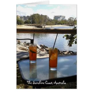 The Sunshine Coast Australia photo Card
