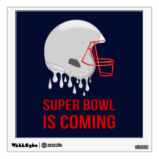 The Super Bowl Countdown Wall Decal
