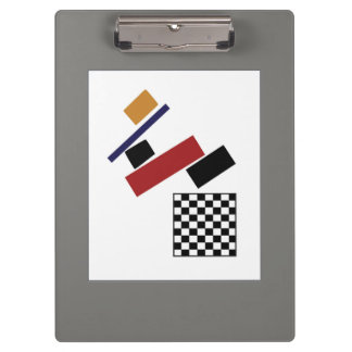 The Super Checker, After Malevich Clipboard
