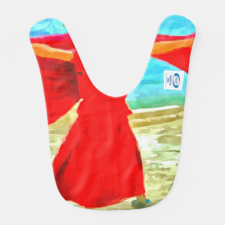 The super fit monk in red bib