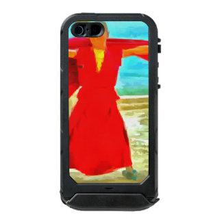 The super fit monk in red incipio ATLAS ID™ iPhone 5 case