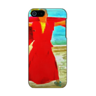 The super fit monk in red incipio feather® shine iPhone 5 case