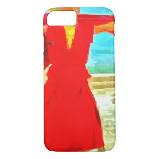 The super fit monk in red iPhone 8/7 case