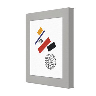 The Super Globe, After Malevich Canvas Print