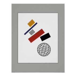 The Super Globe, After Malevich Poster