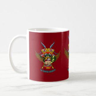 The Super-Kumite mug of victory