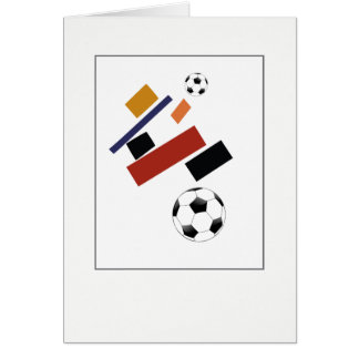 The Super Soccer Ball, After Malevich Card
