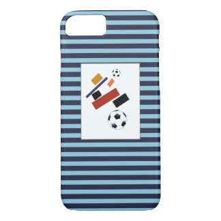 The Super Soccer Ball, After Malevich Case-Mate iPhone Case