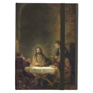 The Supper at Emmaus, 1648 (oil on panel) Cover For iPad Air
