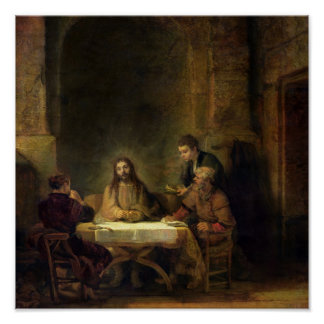 The Supper at Emmaus, 1648 Print