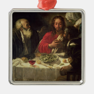 The Supper at Emmaus, c.1614-21 Metal Ornament