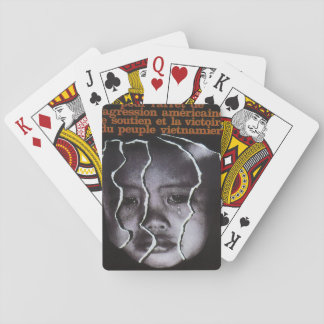 The support of the Vietnamese_Propaganda poster Playing Cards