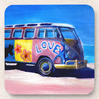 The surf Bus Series - The Love Surf Bus Coaster