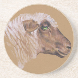The Surly Sheep Drink Coaster