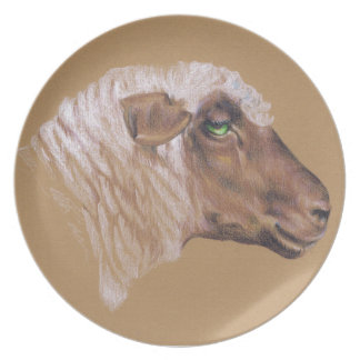 The Surly Sheep Plate
