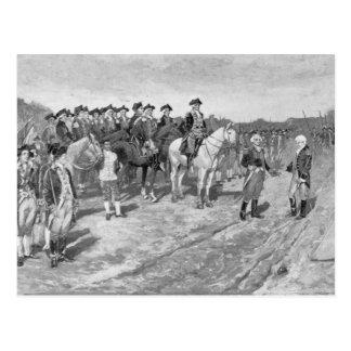 The Surrender of Cornwallis at Yorktown Postcard