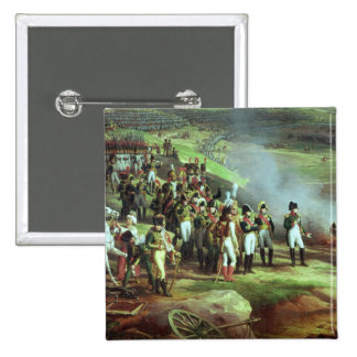 The Surrender of Ulm,  detail of Napoleon, 1815 2 Inch Square Button