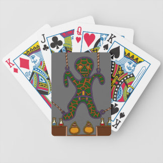 The Suspended Man Bicycle Playing Cards