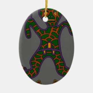 The Suspended Man Ceramic Ornament
