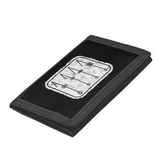 THE SVEFNTHORN Viking design Tri-fold Wallet