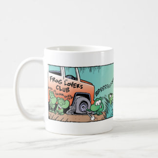 The Swamp Frogs Prank Coffee Mug