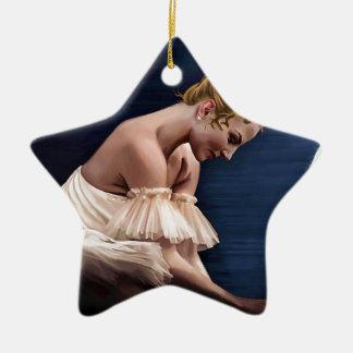The Swan Ceramic Ornament