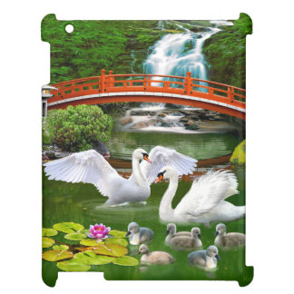 THE SWAN FAMILY CASE FOR THE iPad 2 3 4