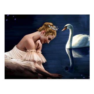 The Swan Postcard