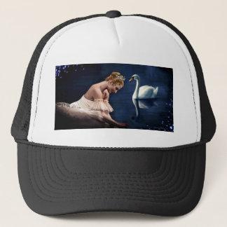 The Swan Trucker Hat