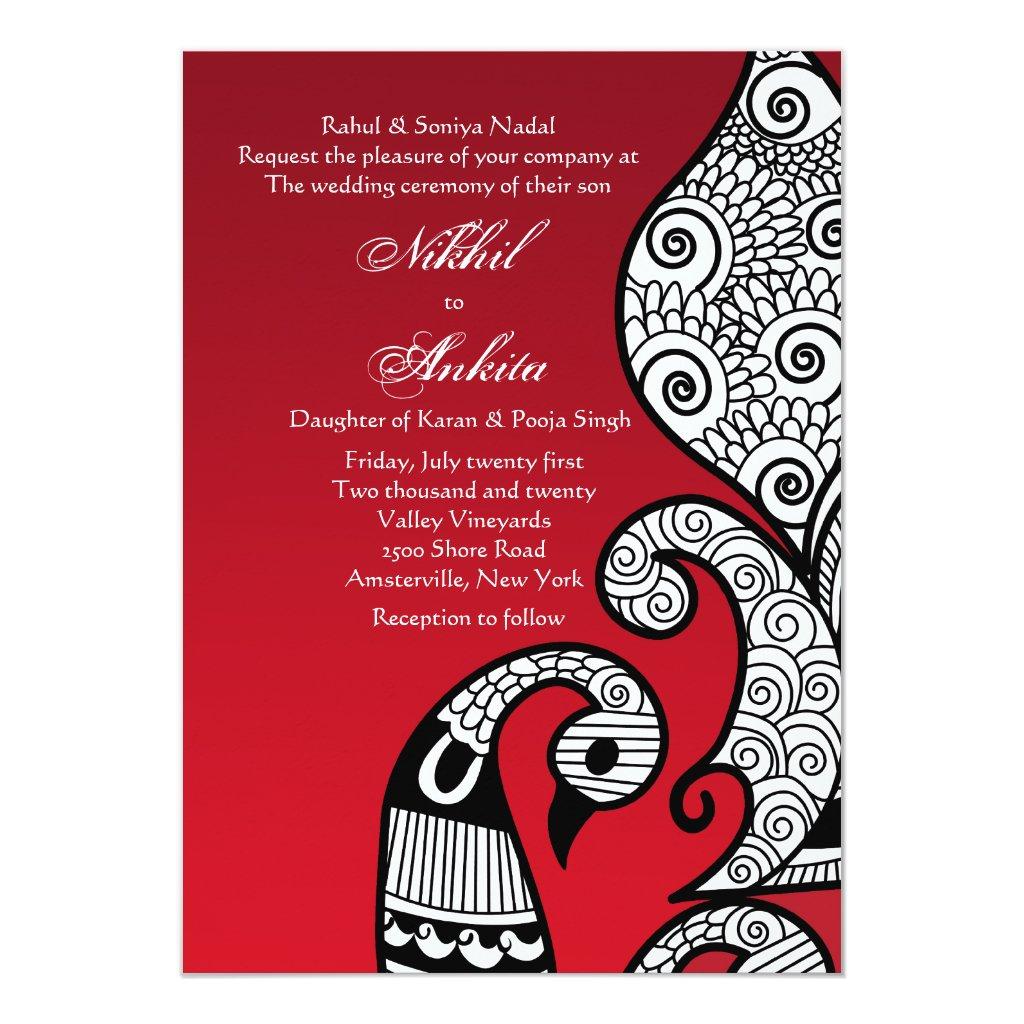 The Swan Wedding Invitation
