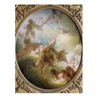 The Swarm of Cupids, c.1767 Postcard