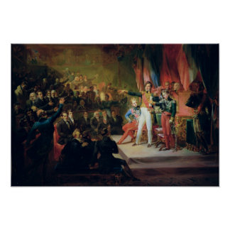 The Swearing-In of Louis-Philippe Poster
