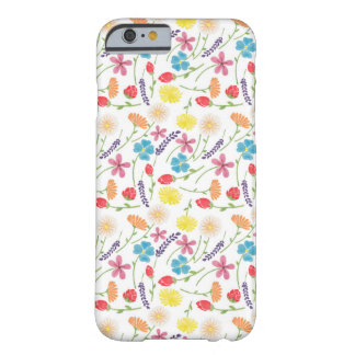 The Sweet Colorful Little Flowers Barely There iPhone 6 Case