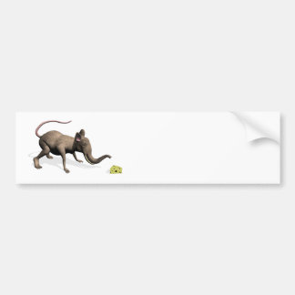 The Sweet Mouphant Bumper Sticker