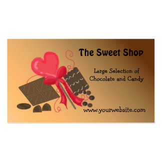 The Sweet Shop Business Card