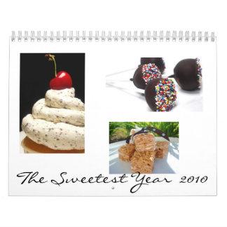 The Sweetest 2010 Calendar