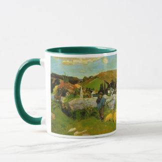 The Swineherd, Brittany by Paul Gauguin Mug