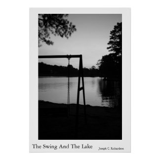 The Swing And The Lake Poster