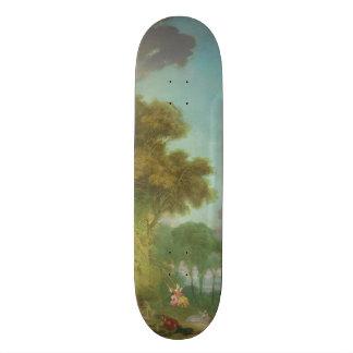 The Swing by Jean-Honore Fragonard Skate Board Deck
