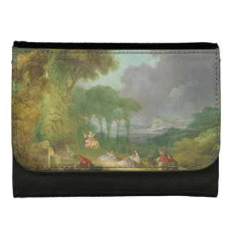 The Swing by Jean-Honore Fragonard Wallet