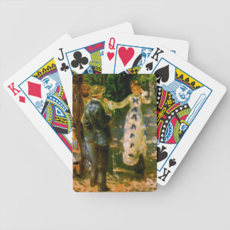 The Swing, Pierre Auguste Renoir Bicycle Playing Cards